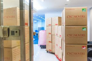 Packing Boxes Provided By CYC For Office Relocation
