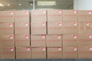 Packing supplies provided by CYC for your packing and move