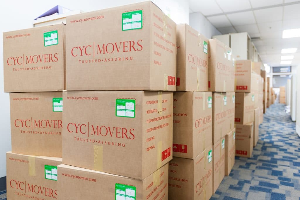 Office Moving Services in Singapore
