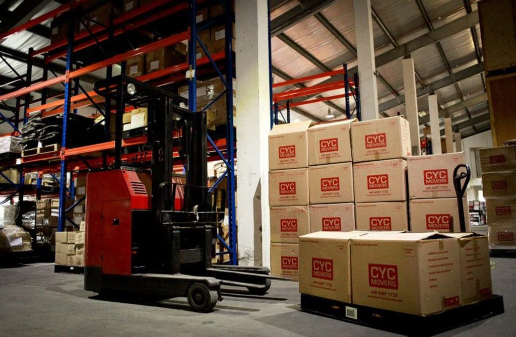 CYC Movers Storage Warehouse
