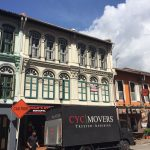terrace house and CYC truck