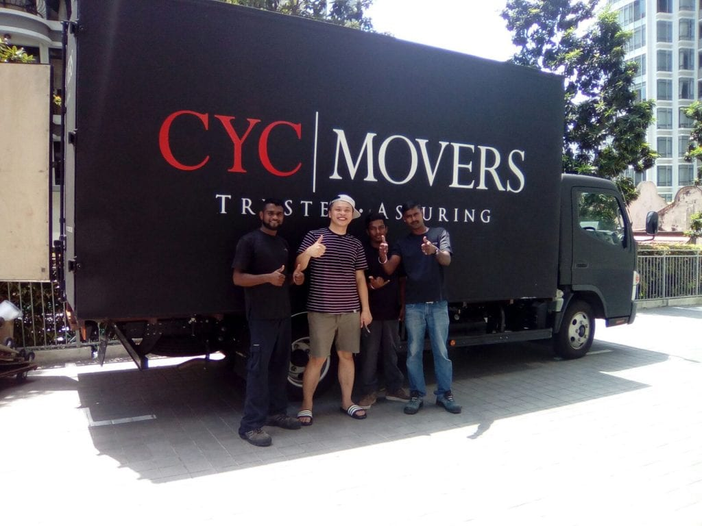 Happy Moving Customers