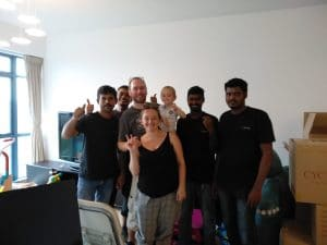Moving Crew for Singapore National Eye Centre