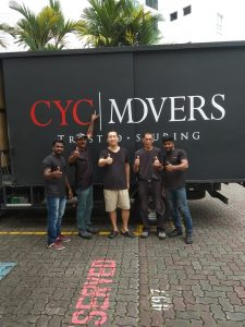 Happy Client of CYC Movers 30