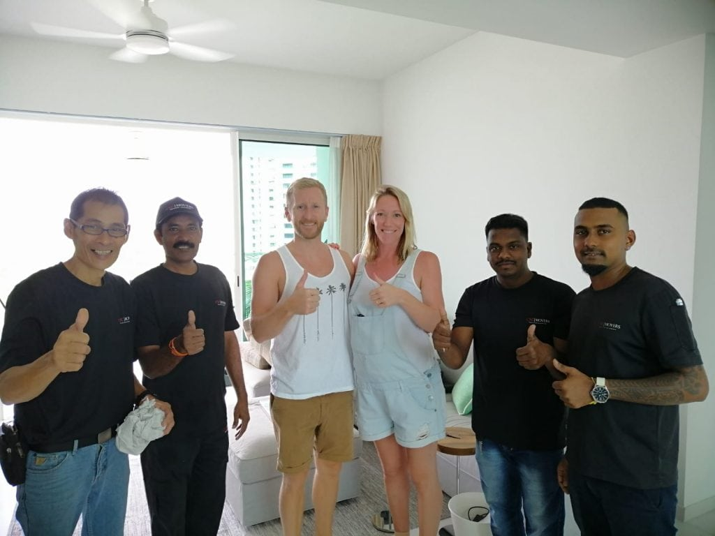CYC Movers Happy Customers With Crew: Ms. Julia