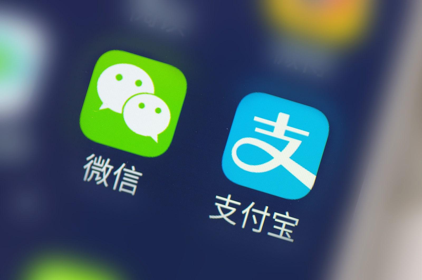 WeChat Alipay