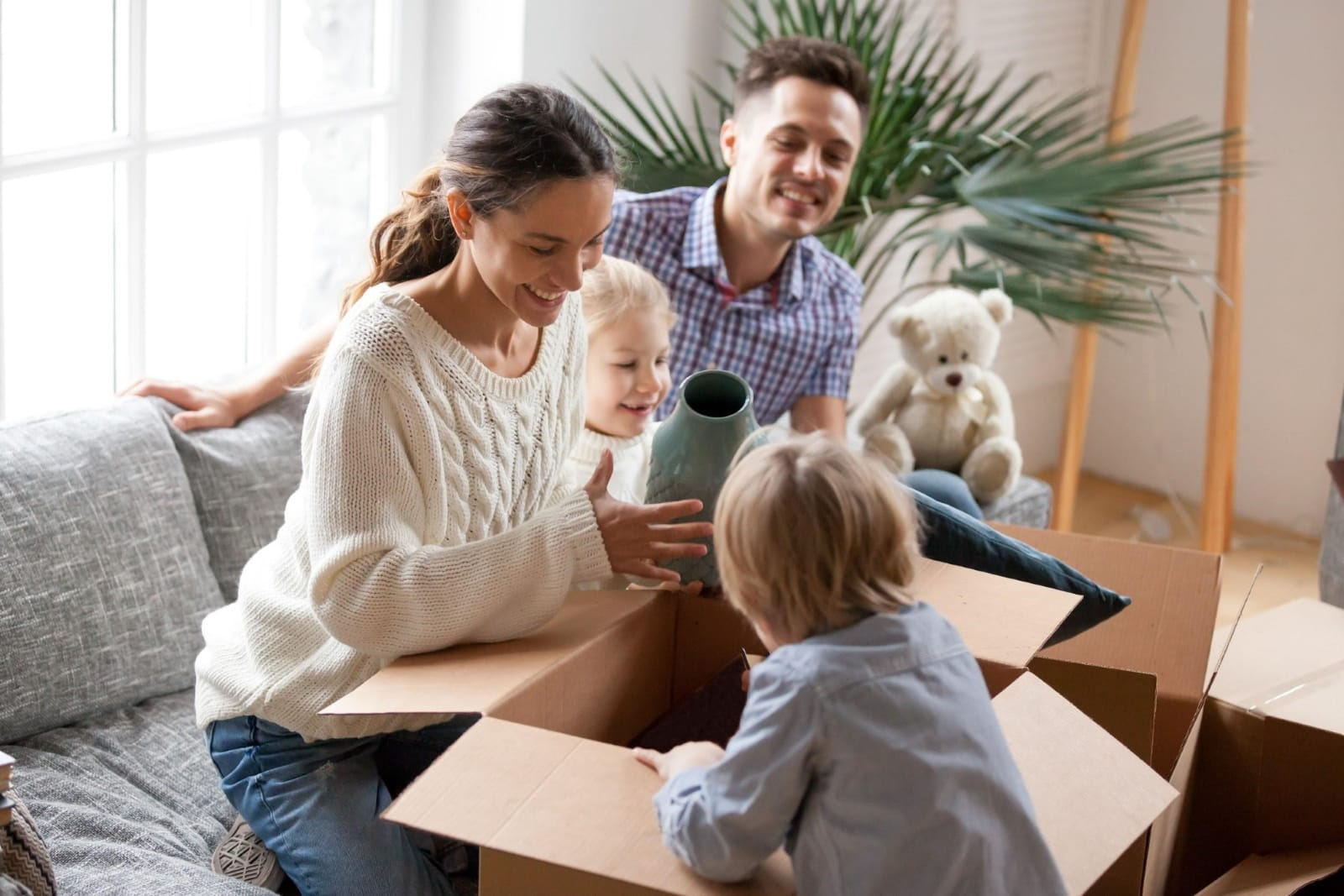 Moving Homes With Children