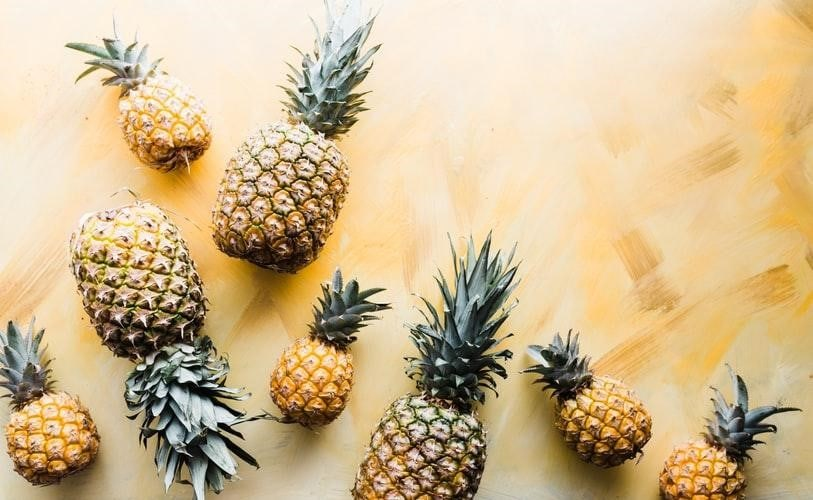 Pineapples for good luck?