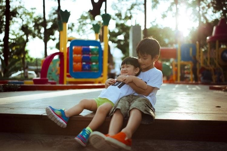 Interest your children with the playground in your new neighbourhood